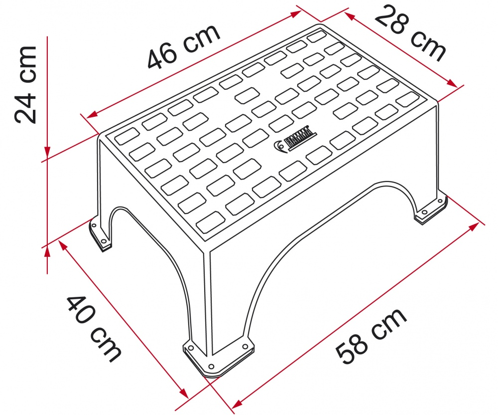 Fiamma Magnum Step for caravans and motorhomes